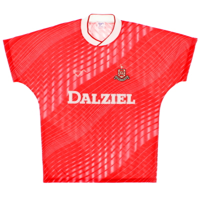 1988-89 Airdrieonians Away Shirt
