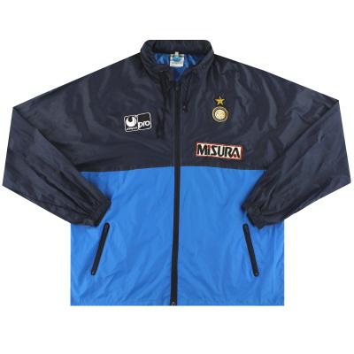 1988-89 Inter Milan Uhlsport Rain Jacket *Mint* XL