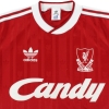 1988-89 Liverpool adidas Home Shirt *Mint* L