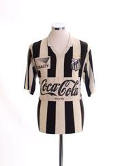1988-89 Santos Home Shirt L