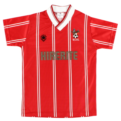 1988-90 Bristol City Home Shirt L.Boys
