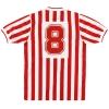 1988-90 Derry City Umbro Match Issue Home Shirt #8 M