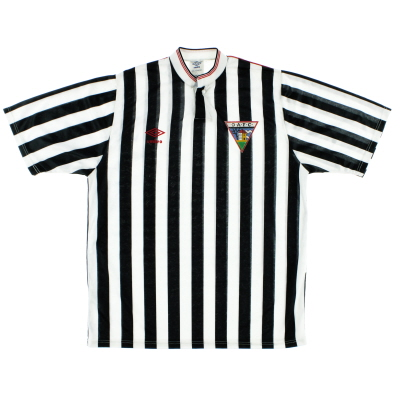 1988-90 Dunfermline Athletic Home Shirt L