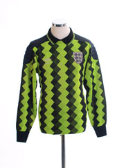 1988-90 England Goalkeeper Shirt #1 M