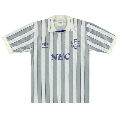 1988-90 Everton Umbro Away Shirt L.Boys