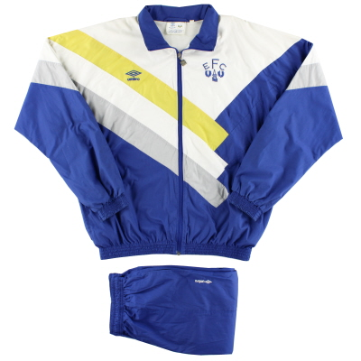 1988-90 Everton Umbro Tracksuit XL