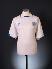 1988-90 Leeds Home Shirt L