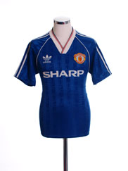 1988-90 Manchester United Third Shirt M