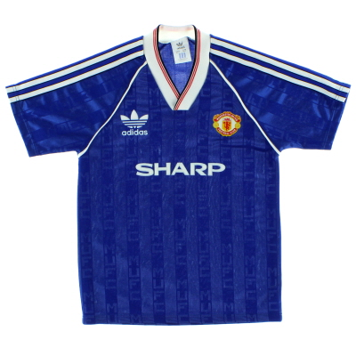 1988-90 Manchester United Third Shirt L.Boys