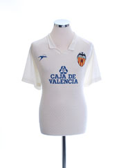 1988-90 Valencia Match Issue Home Shirt #10 XL