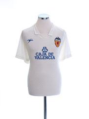 1988-90 Valencia Match Issue Home Shirt #10 XL