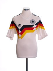 1988-90 West Germany Home Shirt L