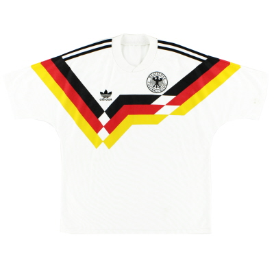 1988-90 West Germany Home Shirt S