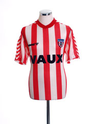 1988-91 Sunderland Home Shirt M
