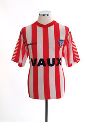 1988-91 Sunderland Home Shirt XL