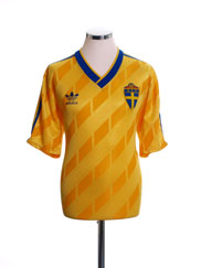 1988-91 Sweden Home Shirt L
