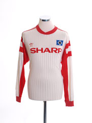 1989-90 Hamburg Home Shirt L/S L