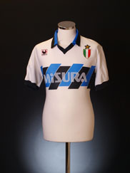 1989-90 Inter Milan Away Shirt L