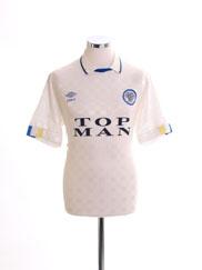 1989-90 Leeds Home Shirt M