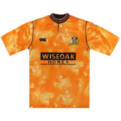 1989-90 Maidstone United Spall Home Shirt Y