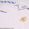 1989-90 Real Madrid Home Shirt L