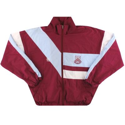 1989-90 West Ham Bukta Track Jacket *Mint* M