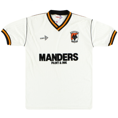 1989-90 Wolves Scoreline Away Shirt S