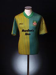 1989-90 Wrexham Away Shirt M