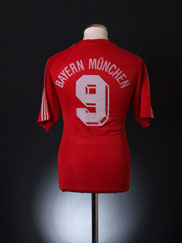 1989-91 Bayern Munich Home Shirt #9 L