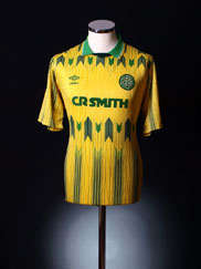 1989-91 Celtic Away Shirt M