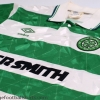 1989-91 Celtic Home Shirt L