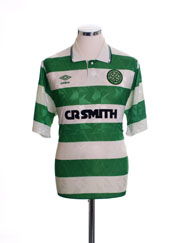 1989-91 Celtic Home Shirt XL