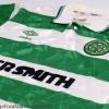 1989-91 Celtic Home Shirt XL