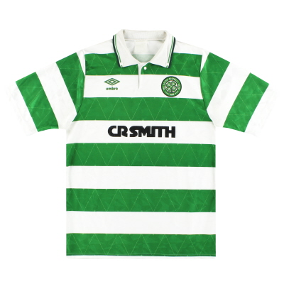 1989-91 Celtic Umbro Home Shirt M