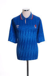 1989-91 Chelsea Home Shirt XL