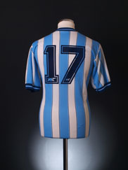 1989-91 Coventry Match Issue Home Shirt #17 L