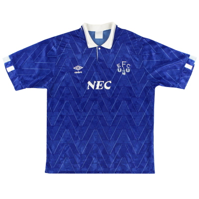 1989-91 Everton Home Shirt