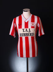 1989-91 Exeter Home Shirt *Mint* S