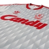 1989-91 Liverpool adidas Away Shirt M