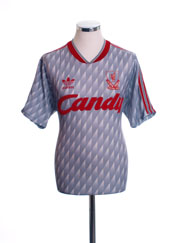 1989-91 Liverpool Away Shirt M