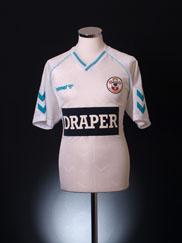 1989-91 Southampton Away Shirt *As New* XL