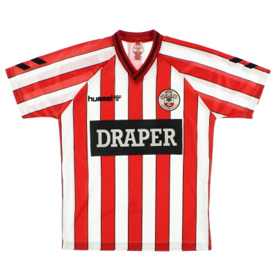 1989-91 Southampton Home Shirt M