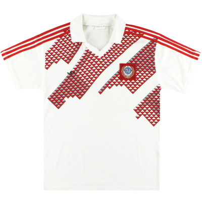 1989-91 Soviet Union adidas Away Shirt L