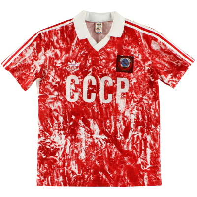 1989-91 Soviet Union Home Shirt M