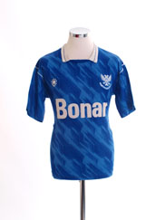 1989-91 St Johnstone Home Shirt S
