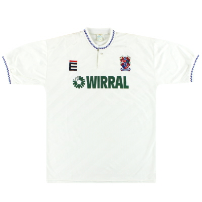 1989-91 Tranmere Rovers Home Shirt XL