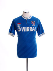 1989-91 Tranmere Rovers Third Shirt S