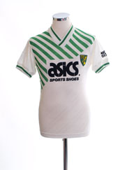 1989-92 Norwich City Away Shirt *Mint* S