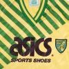 1989-92 Norwich City Home Shirt S