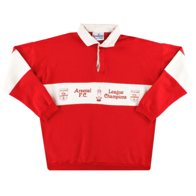1989 Arsenal Vandanel 'League Champions' Sweatshirt XL
